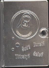 Bibbia NR94 in cofanetto metallico con chiusura a pulsante magnetico - 31173 (SG31173) (Metallica)
