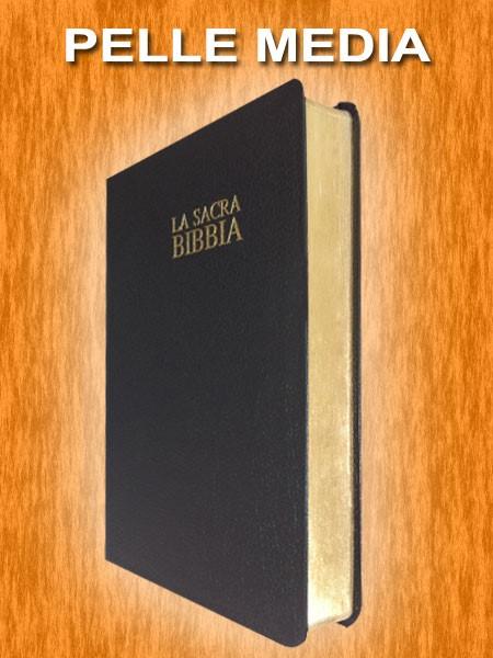 Bibbia Nuova Diodati - B03PN - Formato grande (Pelle)