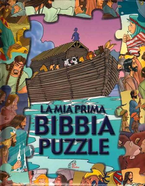 La mia prima Bibbia puzzle (Copertina Rigida Imbottita)