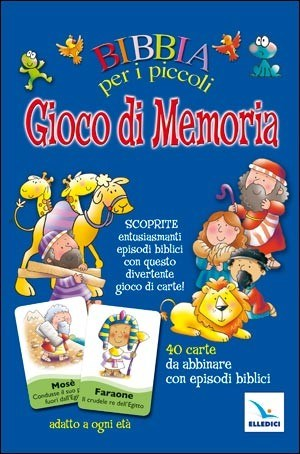 Bibbia per i piccoli - Gioco di memoria - Memory biblico (Cartonato)