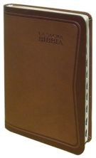 Bibbia Nuova Diodati - A03PO - Formato medio (Pelle)