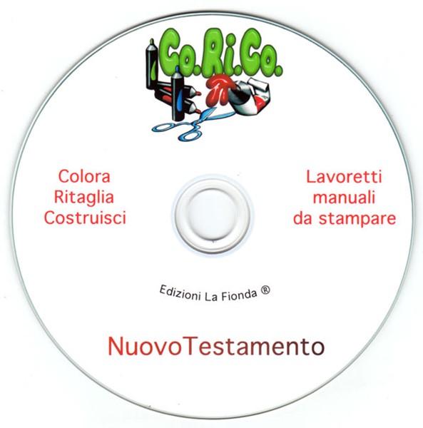 Lavoretti Manuali da Stampare Nuovo Testamento [CD-Rom]