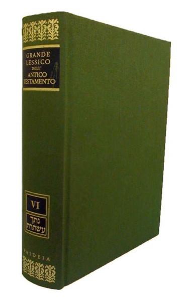 Grande lessico dell'Antico Testamento vol.6 Natak-Astoret (Copertina rigida)