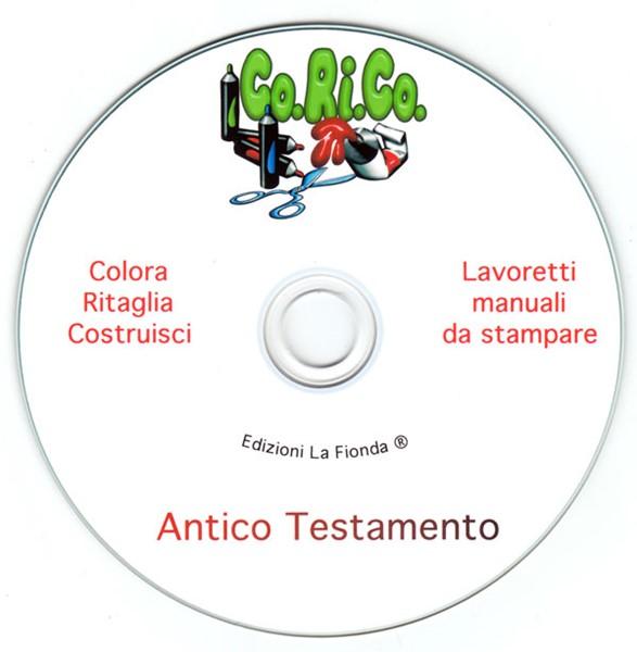 Lavoretti Manuali da Stampare Antico Testamento [CD-Rom]