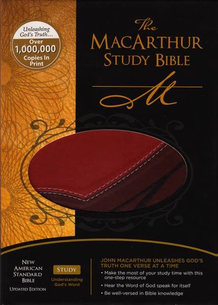 The MacArthur Study Bible - New American Standard Bible