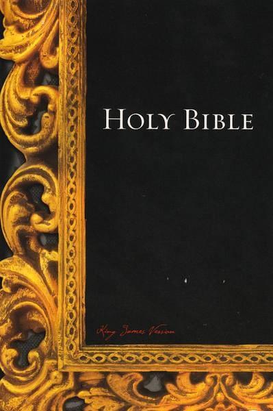 KJV Holy Bible Paperback Frame