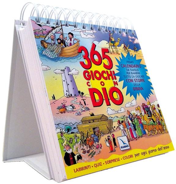 365 giochi con Dio vol. 1 - Il primo calendario da tavolo per bambini tutto da giocare con storie della Bibbia