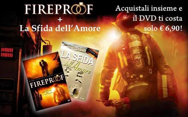 Offerta Fireproof DVD + La Sfida dell'Amore a soli €19,90