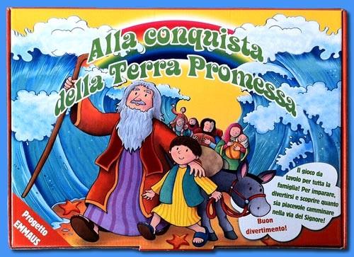 Alla conquista della Terra promessa - Gioco da tavolo per tutta la famiglia