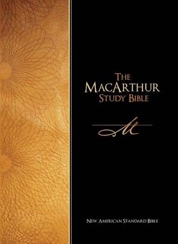 The MacArthur Study Bible - New American Standard Bible (Copertina rigida)