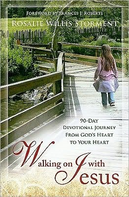 Walking on with Jesus - 90-day devotional journey from God's heart to your heart (Brossura)