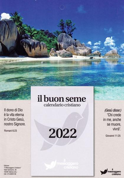 Calendario biblico Il buon seme - edizione 2020 (Blocchetto da muro)