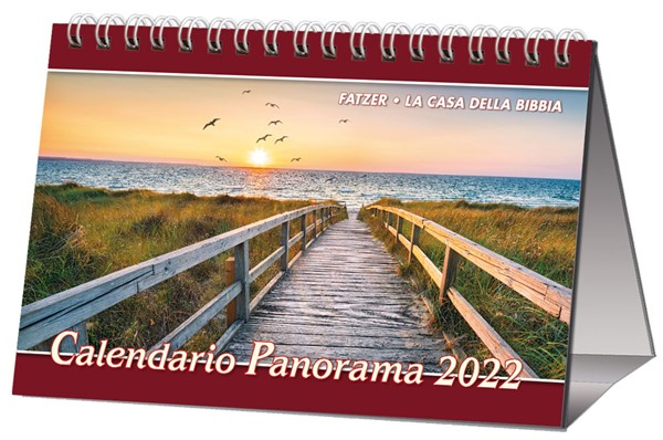 Calendario Panorama 2019 - Splendide immagini panoramiche in un calendario da tavolo (Spirale)