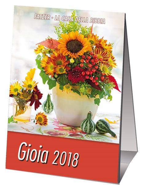 Calendario Gioia 2018 - Minicalendario da scrivania (Spillato)