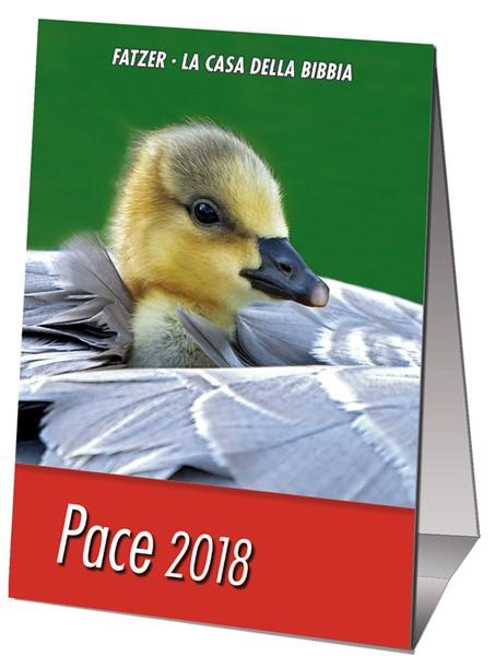 Calendario Pace 2018 - Minicalendario da scrivania (Spillato)