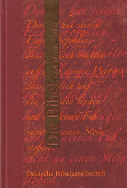 Bibbia in Tedesco Colore Rosso (Copertina Rigida) [Bibbia Piccola]