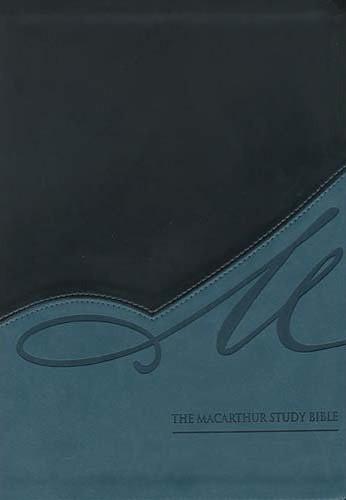 Bibbia MacArthur in Inglese - New American Standard Bible - In pelle morbida bicolore