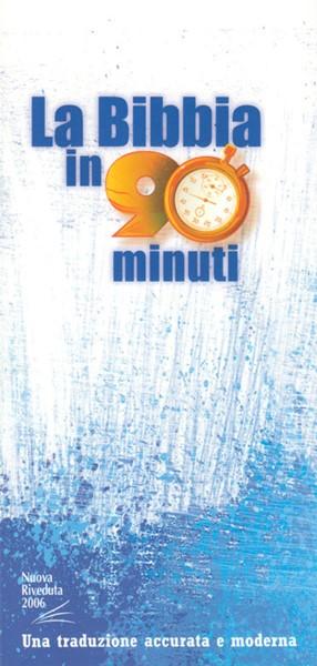 La Bibbia in 90 minuti (Brossura) [Libro]