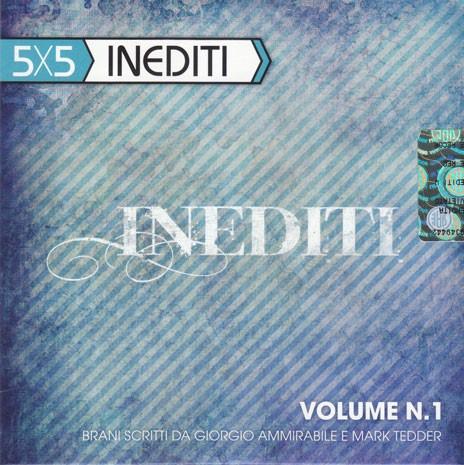 5X5 Inediti (Cartoncino) [CD]
