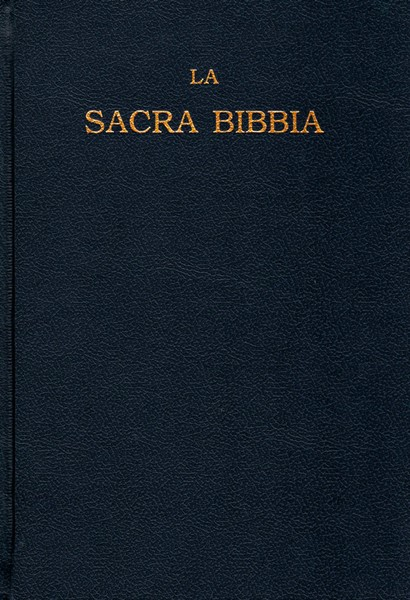 La Sacra Bibbia Luzzi Rigida (Copertina rigida)