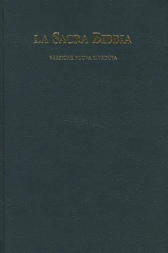 La Sacra Bibbia Versione Nuova Riveduta - Cod. 1011 (Copertina Rigida)