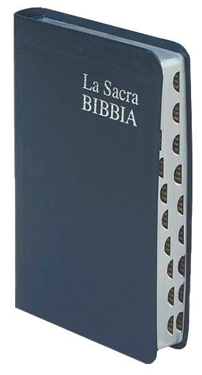 Bibbia Nuova Diodati - C03PBR - Formato piccolo (Pelle)