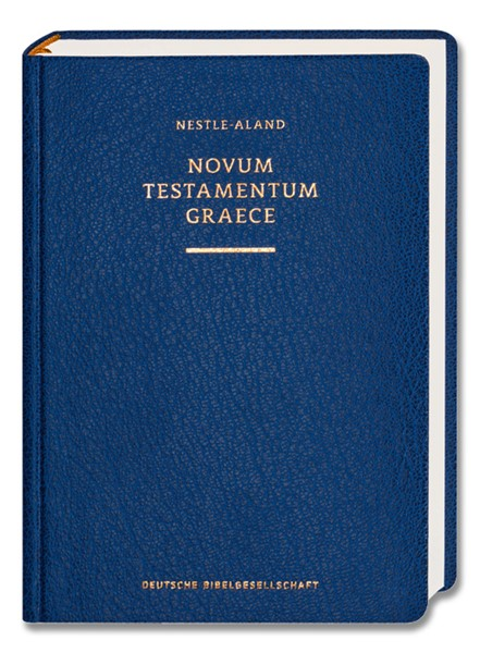Novum Testamentum Graece Nestle-Aland Scholarly Edition 28 (Nuovo Testamento Greco Nestle-Aland) (Copertina Semirigida)