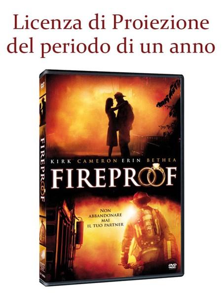 """Licenza di Proiezione del Film """"Fireproof"""" della durata di 1 Anno e Proiezioni Illimitate"""