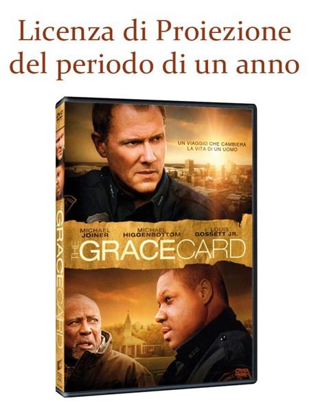 """Licenza di Proiezione del Film """"The Grace Card"""" della durata di 1 Anno e Proiezioni Illimitate"""