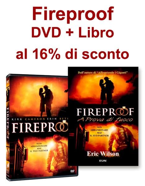 OFFERTA Fireproof DVD + Libro a €24,99
