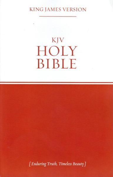 Bibbia in inglese King James Version Holy Bible (Brossura) [Bibbia Media]