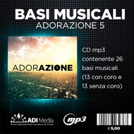 Adorazione 5 - Basi musicali Mp3