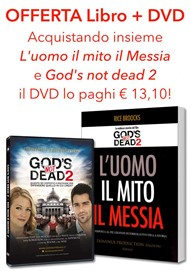 """Offerta """"L'uomo, il mito, il Messia"""" + DVD """"Dio non è morto 2"""""""