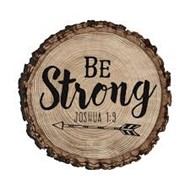 Calamita Be strong Joshua 1:9