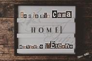 """Quadro """"Home - Tabella luminosa"""" - Rettangolare piccolo (RTN141)"""