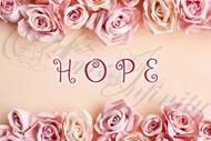 "Quadro ""Hope"" - Rettangolare piccolo (QRT002)"