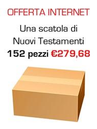"""Offerta - Una scatola da 152 copie de """"Il nuovo Testamento Salmi e Proverbi"""" al 5% di sconto"""