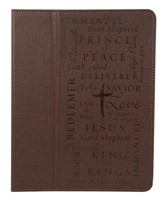 Custodia in pelle per il nuovo iPad e iPad 2 Name of Jesus (Pelle)
