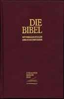 Die Bibel mit Parallelstellen und Studienführer - Bibbia in Tedesco con paralleli