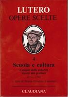 Scuola e cultura - Compiti delle autorità - doveri dei genitori (1524 e 1530) - A cura di Maria Cristina Laurenzi (Copertina rigida)