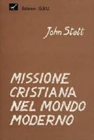 Missione cristiana nel mondo moderno