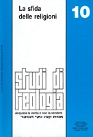 La sfida delle religioni (Studi di Teologia - n° 10) (Brossura)