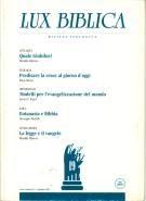 Lux biblica - n° 19 (Brossura)