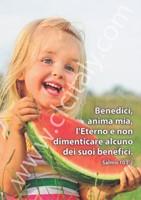 12 Cartoline con versetto - Serie 4