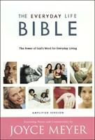 The Joyce Meyer's Everyday Life Bible - Amplified Version