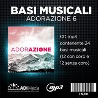 Adorazione 6 - Basi musicali in Mp3