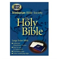 KJV Extra large print Bible without references
