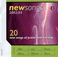 New Songs 2002 / 2003 Vol 1