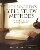 Rick Warren's Bible Study methods - 12 ways you can unlock God's Word