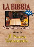 Il Nuovo Testamento - Lettura della Bibbia - CD MP3